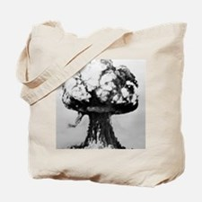 Nuclear explosion Tote Bag
