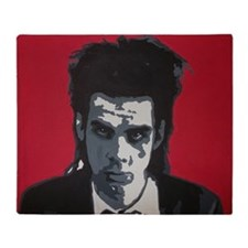 Nick Cave Acrylic Painting Throw Blanket