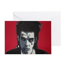 Nick Cave Acrylic Painting Greeting Card