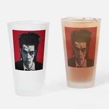 Nick Cave Acrylic Painting Drinking Glass