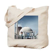 Nuclear power station, artwork Tote Bag