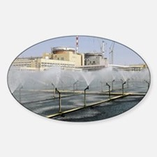 Nuclear power station Decal
