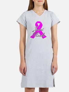 Janet Rocks Cancer Designs Women's Nightshirt