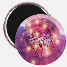 Electronic world, artwork Magnet