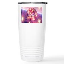 Electronic world, artwork Travel Mug