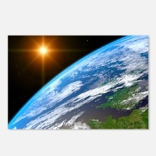 Earth, artwork Postcards (Package of 8)