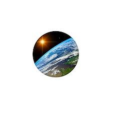 Earth, artwork Mini Button