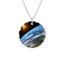 Earth, artwork Necklace