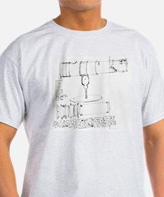 Newton's telescope, historical artwo T-Shirt