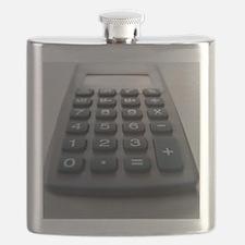 Electronic calculator Flask