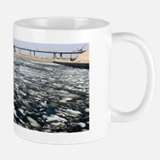 New Ulyanovsk Bridge, Russia Mug
