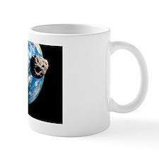 Near-Earth asteroids, artwork Mug