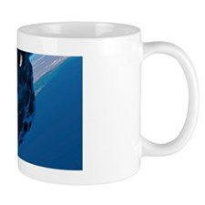Near-Earth asteroid, artwork Mug