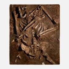 Neanderthal skeleton, Kebara Cave, I Throw Blanket