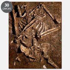 Neanderthal skeleton, Kebara Cave, Israel Puzzle