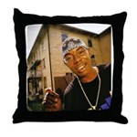 Soulja Slim Throw Pillow