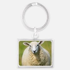 Sheep Landscape Keychain