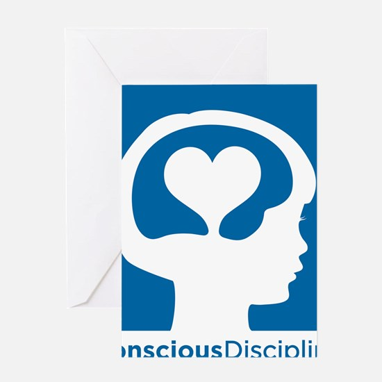 Conscious Discipline stacked logo -  Greeting Card
