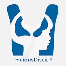 Conscious Discipline stacked logo - blue Bib