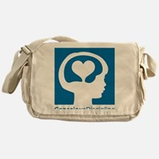 Conscious Discipline stacked logo -  Messenger Bag