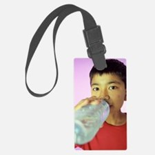 Drinking water Luggage Tag