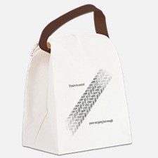 Fast Enough Canvas Lunch Bag