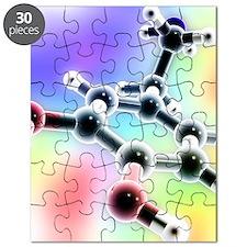 Dopamine, 3D molecular model Puzzle