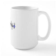 Dopamine neurotransmitter molecule Mug
