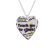 Teach me Necklace