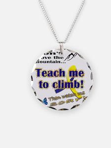 Teach me Necklace