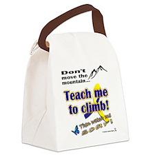 Teach me Canvas Lunch Bag
