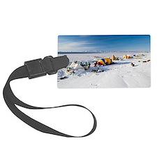 Seal hunting base camp, Greenlan Luggage Tag