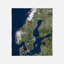 Scandinavia Throw Blanket