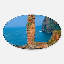 Sea stack Sticker (Oval)
