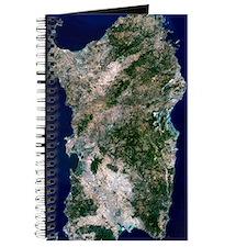 Sardinia, satellite image Journal