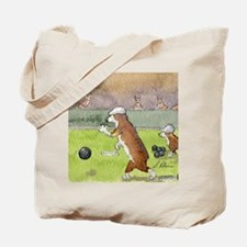 Bowls on the green Tote Bag