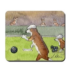 Bowls on the green Mousepad