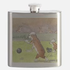 Bowls on the green Flask