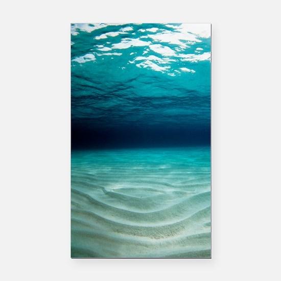 Sandy sea floor Rectangle Car Magnet