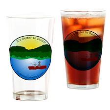 Bucks County Insiders Hat with Logo Drinking Glass