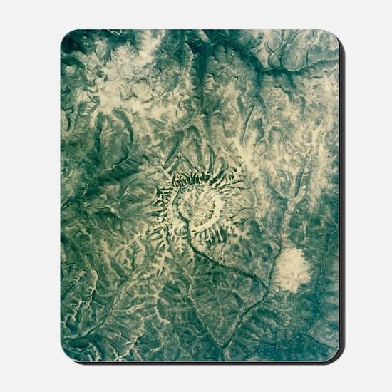 Satellite radar image of Gora Konder imp Mousepad