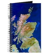 Satellite image of Scotland Journal