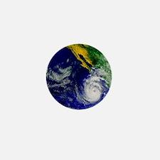 Satellite image of Hurricane Nora over Mini Button