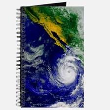 Satellite image of Hurricane Nora over the Journal