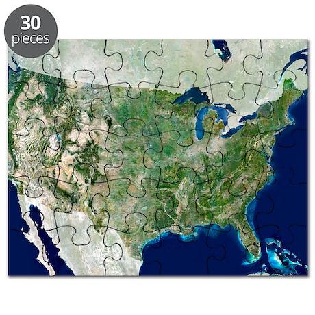 satellite image Puzzle