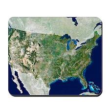 satellite image Mousepad