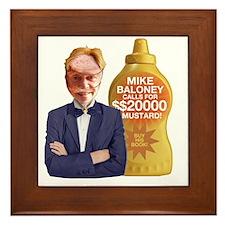 Mike Baloney Framed Tile