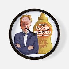 Mike Baloney Wall Clock