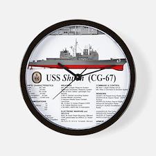 USS Shiloh CG-67 Wall Clock
