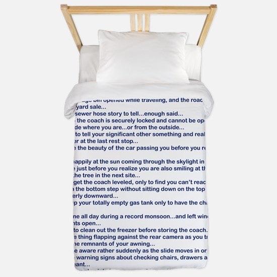YOU MIGHT BE AN RV-ER Twin Duvet